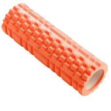 Ролик для йоги (оранжевый) 44х14см ЭВА/АБС