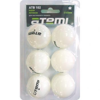 Мяч для настольного тенниса Atemi 1*, 102