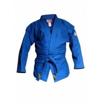 Куртка для самбо (Таджикистан) синяя