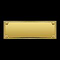 Таблички на кубки прямоугольные (от 6 см до 8 см)