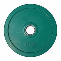 Диски цветные обрезиненные 10 кг D-50мм